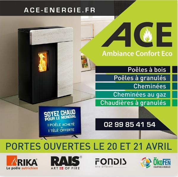 Portes Ouvertes ACE le 20 et 21 Avril 2018