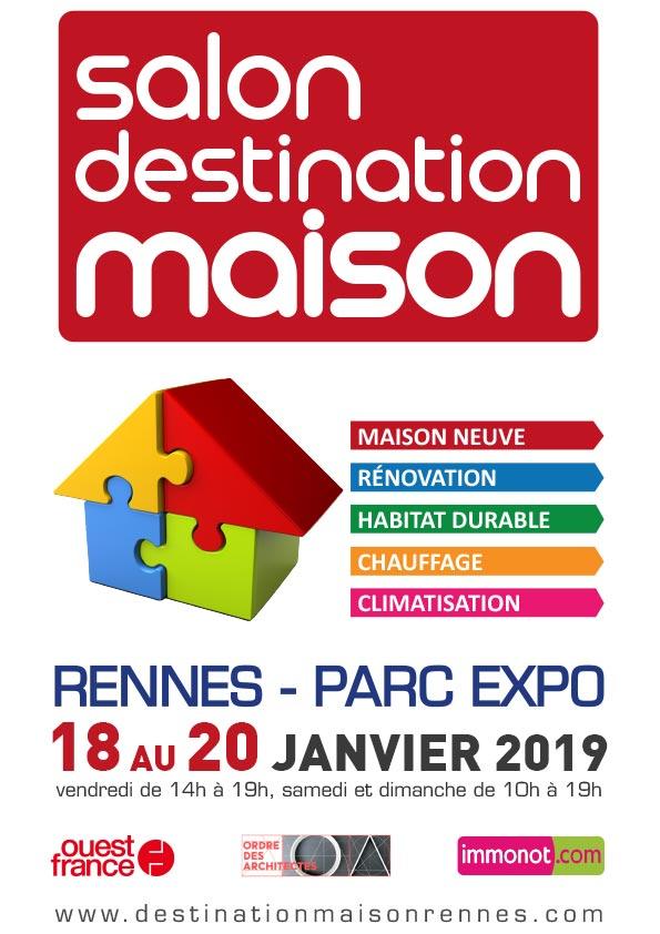 Salon Destination Maison au parc des expositions de Rennes